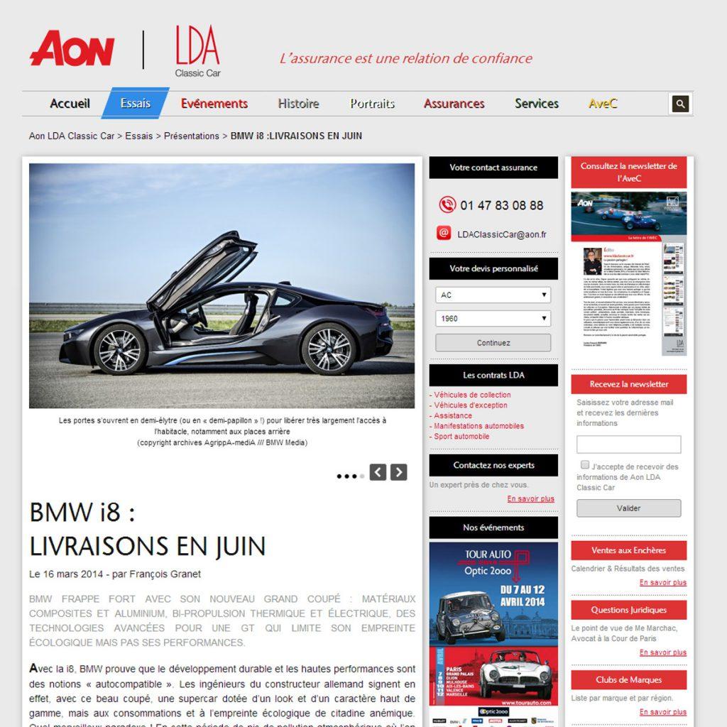 AON Classic Car