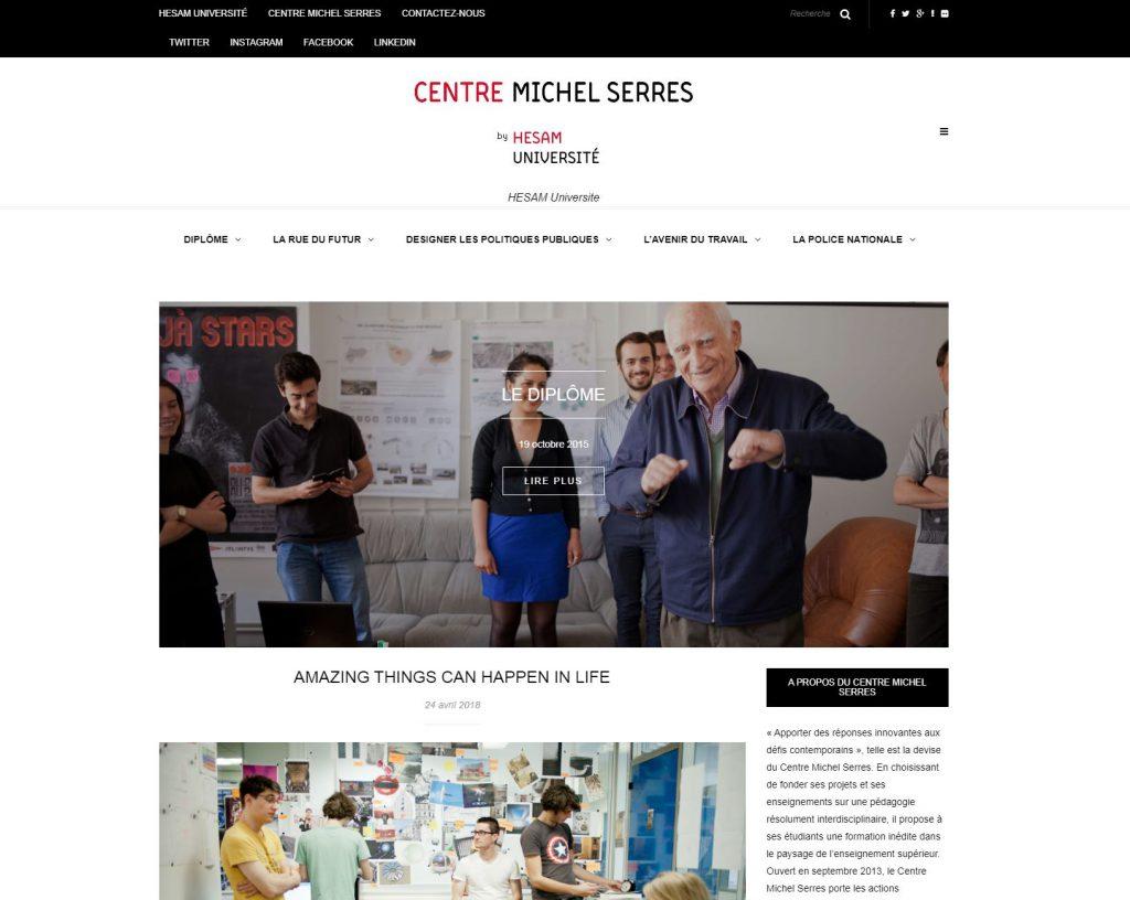 Le blog du centre Michel Serres